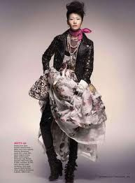 punk princess fashion editorial - Buscar con Google