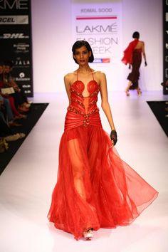 Lakme Fashion Week Winter/Festive 2012 Day 2 - KomalSood