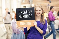 CreativeMornings/Moscow