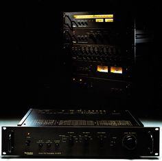 The Technics Professional / Flat 9000 series. In the 1970s Hi Fi was cool. Darth Vader's stereo probably looked like this.