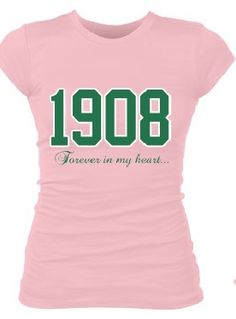 """1908 Forever In My Heart"" AKA tee"
