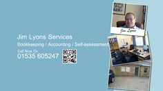 We can help with all your business' bookkeeping and administration. Just contact us today at Jim Lyons Services www.jimlyonsservices.co.uk/ #bookkeeping #accountingtips #accounting Online Accounting Services, Bookkeeping And Accounting, Self Assessment, Business, Tips, Self Esteem, Store, Business Illustration, Counseling