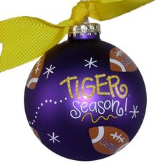 Image detail for -LSU Wonderful, Sports, Christmas Ornaments