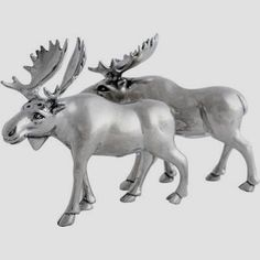 salt and pepper shakers... they remind me of the Abercrombie & Fitch moose :)
