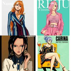 "990 Likes, 19 Comments - 30.1k (@mugiwa.r.a) on Instagram: ""《Hello Minna》 ° ° ❥ Nami, Robin, Reiju or Carina?❤ ° ° ✦〘One Piece〙❥ #anime #animeworld #animedraw…"""
