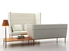 2 seater high-back sofa Element Collection by mminterier | design Boris Klimek