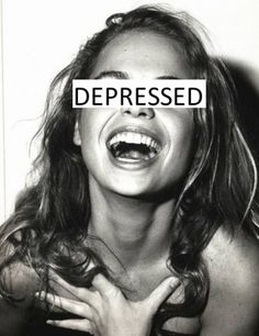this woman is depressed that is why she is laughing...omg,what is happening in this world.lol