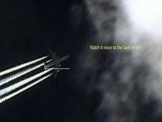 UFOS Holographic  Planes, Chemtrails & giant sphere 15 march 2010