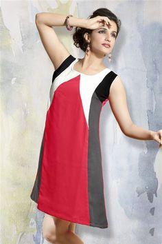 Stylish Casual Wear Georgette Kurti