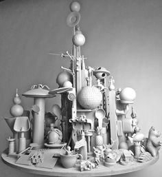 'Zing Hong' Fairhurst_Fielding sculpture 2009