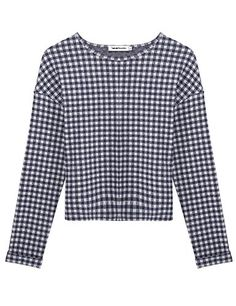 Crew Neck Sweatshirt, Pullover, Boyfriend Style, Tartan Plaid, Fashion Brands, Topshop, Fashion Outfits, Crop Tops, Amazon
