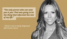 Celebrities who have faced breast cancer