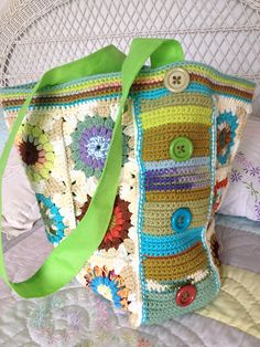 Ravelry: chitweed's Crochet Market Bag