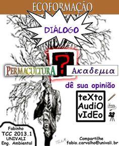 Permacultura e Academia (Universidade) - Rede PSB