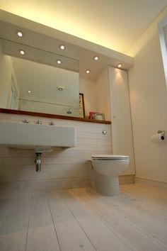 Ensuite Bathroom Wall Hung Vanity Concealed Cistern Mirror