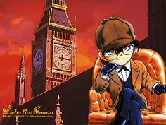 Edogawa Conan/ Sherlock Holmes