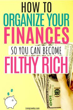 Are you looking to save money and pay off debt? If so, you need to begin by organizing your finances. Financial organization is key to taking control of your money. If you are ready to organize your life. Start with your finances and the rest will come. No Spend Challenge, Money Saving Challenge, Money Saving Tips, Managing Money, Money Tips, Money Plan, Big Money, Financial Organization, Budgeting Worksheets