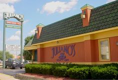 Juliano's in Warren. MI (at Van Dyke and 11 mile)  They have a great 2 for 20 menu and we have used them for catering as well as for our rehearsal dinner a couple years back.  Excellent food and good service.