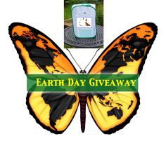 Enter to win 1 TALL Baby Butterfly Cage, Poo Poo Platter, Super-sized Floral Tubes, Floral Tube Rack, and LED magnifier - Win 4 Earth Day Giveaway raising monarchs bundles through April More info and Enter here: