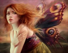 Hope  #fairy #fantasy #illustration #art #melaniedelon