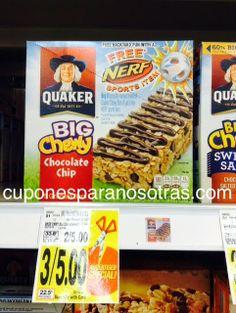 Kroger: Quaker Chewy Bars a sólo $0.67   http://www.cuponesparanosotras.com/2014/06/kroger-quaker-chewy-bars-solo-067.html