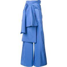 wide leg trousers - Blue Rosie Assoulin DQhh2aHhg