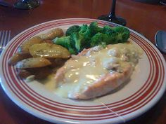 Stuffed Salmon with Crab, Shrimp and Brie