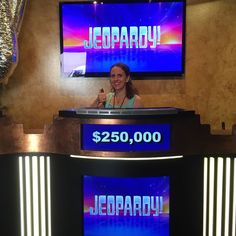 I won big on Jeopardy today! OK not really but I did have fun on the Sony Pictures Studio Tour. #travel #losangeles #california #jeopardy #winner