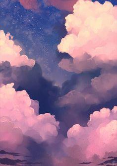 Картинка с тегом «clouds, sky, and wallpaper»