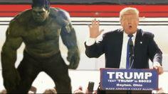 Hulk Punches Trump