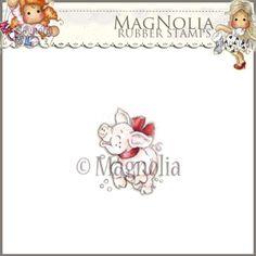 Magnolia Rubber Stamp - WW13 A Joyful Piglet