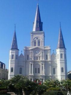 Cathedrale St Louis New Orleans #nola