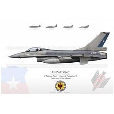 """F-16AM """"Viper"""" Chile LW-28"""