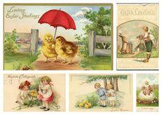 Magic Moonlight Studio  Easter collages