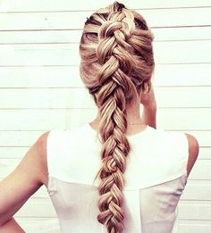 Dutch braid #gorgeoushair