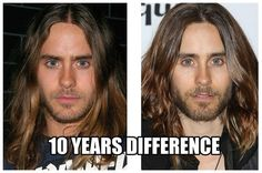 I swear he does not age