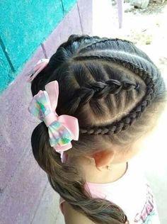 Neue Fotos Kinderfrisur Ideen, Para seeing that cacheadas elizabeth crespas, Try On Hairstyles, Toddler Hair, Little Girls, To My Daughter, Hair Beauty, Hair Styles, Delaware, Avon, Origami