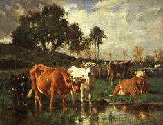 emile van marcke | BBC - Your Paintings - Emile van Marcke de Lummen