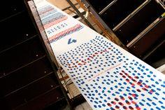 SPORTHAUS SCHUSTER / Aktion zur Europameisterschaft 2016 / #europe # football #france / by Zeichen & Wunder, München Corporate Design, Schuster, Office Supplies, France, Action, Brand Design, Early French
