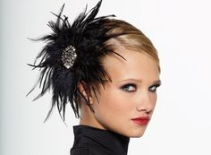 FEATHER BEADED & RHONESTONE HAIRPIN   Kellé Company - Dance costumes, dancewear, dance clothes, dance apparel, Jazz costumes, Lyrical costumes, Kids costumes, competition costumes, recital costumes