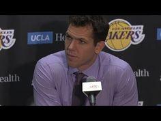 Luke Walton Postgame Interview / LA Lakers vs LA Clippers / Dec 29 - YouTube