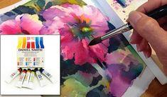 Brenda Swenson: Hollyhocks Painting Demonstration