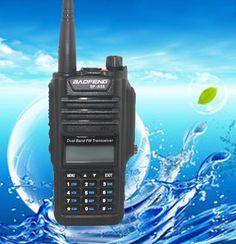 2017 NEW Professional Walkie Talkie Waterproof BAOFENG BF-A58 With FM Radio Station CB Ham Radio Two Way Dual Band Vhf Uhf