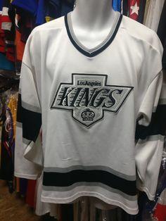 Vintage 90s LOS ANGELES KINGS NHL CCM Jersey L
