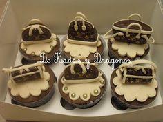 De Hadas y Dragones: Cupcakes Louis Vouitton