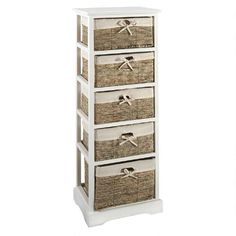 One Of My Favorite Discoveries At ChristmasTreeShops.com: Sara 5 Basket  Storage Cabinet