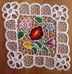 271. Richelieu lace embroidery/Hungarian richelieu hand