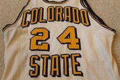 1950s 60s Vintage UNC Northern Colorado Bears Game Used Durene Basketball Jersey | eBay