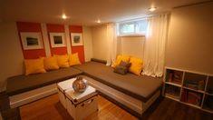 Une salle familiale au sous-sol | Style France Arcand | CASA Parfait pour mon sous-sol.