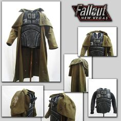Fallout New Vegas - RNK Ranger Coat and Armor by JosuaArtDesigns